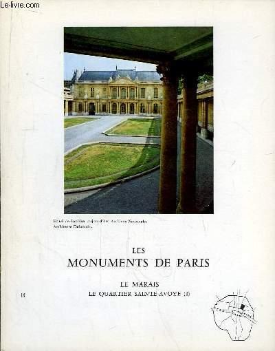 Les Monuments de Paris N°18 : Le Marais, le Quartier Sainte-Avoye, 1e partie.
