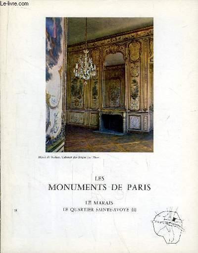 Les Monuments de Paris N°19 : Le Marais, le Quartier Sainte-Avoye, 2e partie.