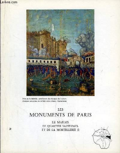 Les Monuments de Paris N°20 : Le Marais, le Quartier Saint-Paul et de La Mortellerie, 1e partie.