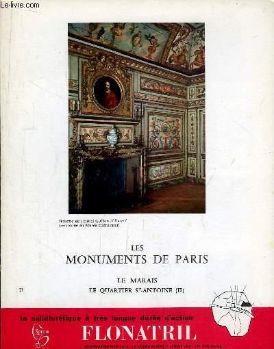 Les Monuments de Paris N°23 : Le Marais, Quartier Saint-Antoine, 2e partie.