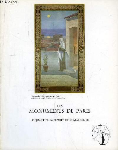 Les Monuments de Paris N°28 : Le Quartier St-Benoit et St-Marcel, 1e partie.