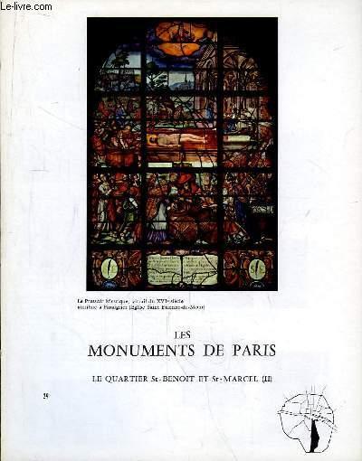Les Monuments de Paris N°29 : Le Quartier St-Benoit et St-Marcel, 2e partie.