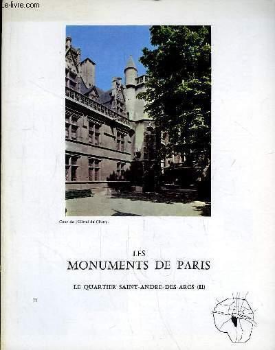 Les Monuments de Paris N°31 : Le Quartier Saint-André-des-Arcs, 2e partie.