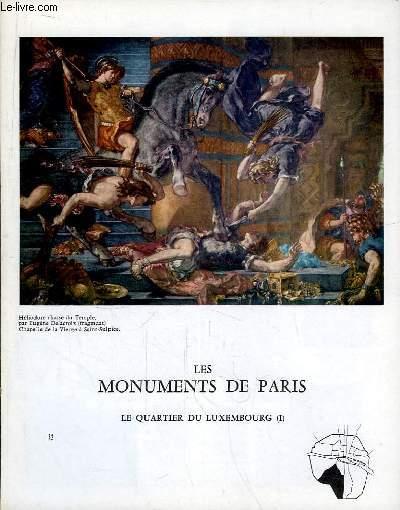 Les Monuments de Paris N°32 : Le Quartier du Luxembourg, 1e partie.