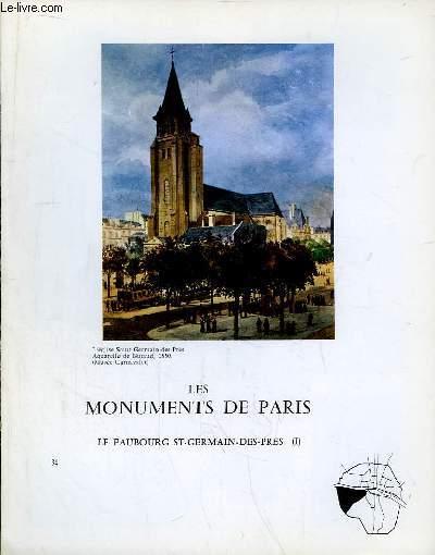 Les Monuments de Paris N°34 : Le Faubourg Saint-Germain-des-Près, 1e partie.