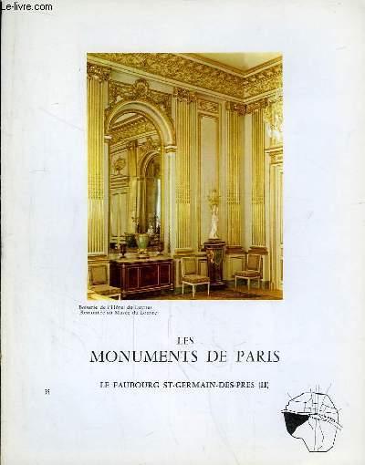 Les Monuments de Paris N°35 : Le Faubourg Saint-Germain-des-Près, 2e partie.