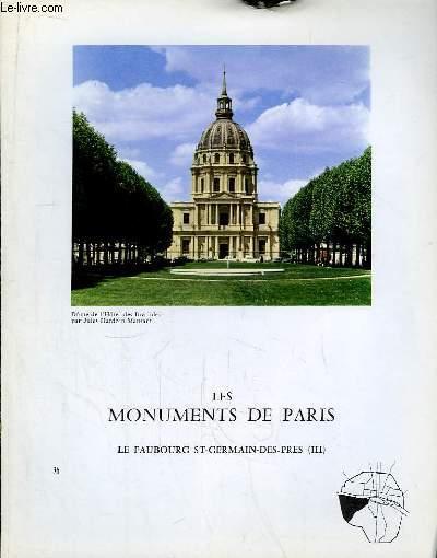 Les Monuments de Paris N°36 : Le Faubourg Saint-Germain-des-Près, 3e partie.