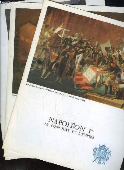 Napoléon 1er. Le Consulat et l'Empire. En 8 fascicules.