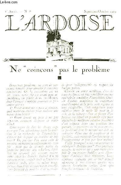 L'Ardoise N°8 - 2ème année : La Nouvelle Gare de Limoges - Caudebec-en-Caux - Une pépinière d'habiles spécialistes : L'Ecole de Couverture de Morlaix -