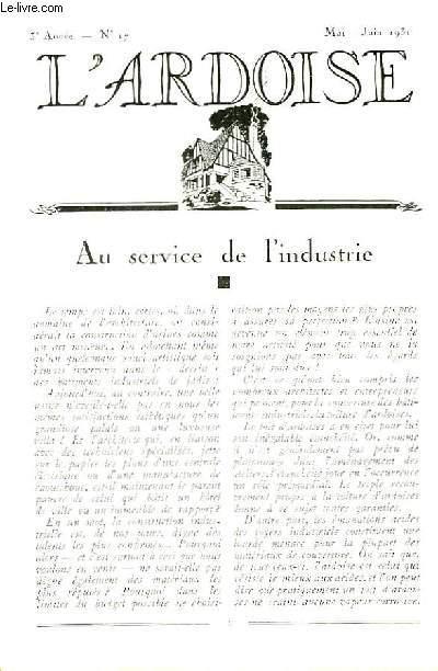 L'Ardoise N°17 - 3ème année : Le Shed - Les Noues (à suivre)  - Ardoiserie rurale ...