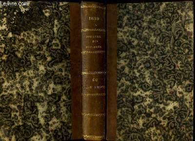 Journal des Notaires et des Avocats. TOMES 56 et 57 - Année 1839 : 10227 à 10561
