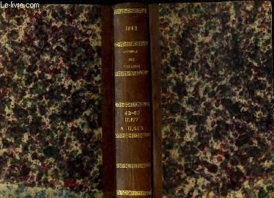 Journal des Notaires et des Avocats. TOMES 62 et 63 - Année 1842 : Art. 11177 à 11532