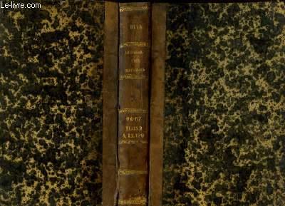 Journal des Notaires et des Avocats. TOMES 66 - 67 - Année 1844 : Art. 11832 à 12199.