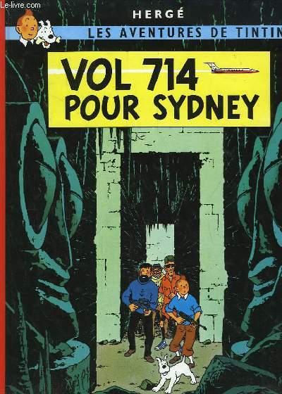 Vol 714 pour Sydney. Les aventures de Titin, n°22.