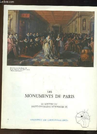 Les Monuments de Paris N°7 :  Le Louvre et Saint-Germain-L'Auxerrois, 2e partie.