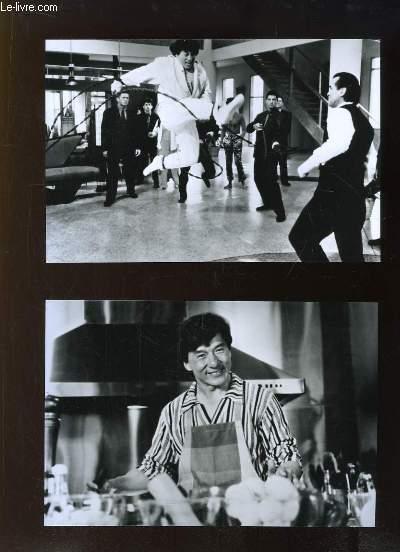 4 Photographies tirées du film Mister Cool, avec Jackie Chan.