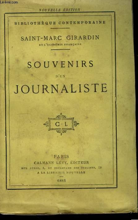 Souvenirs d'un Journaliste.