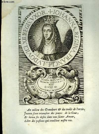 Une Biographie,  XVIIIe siècle, de Jeanne, Reine de France, Femme de Louis XII