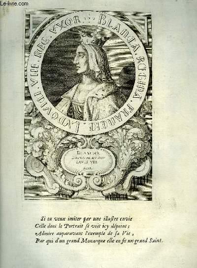 Une Biographie,  XVIIIe siècle, de Blanche, Reine de France, Femme de Louis VIII, Mère de Saint Louis
