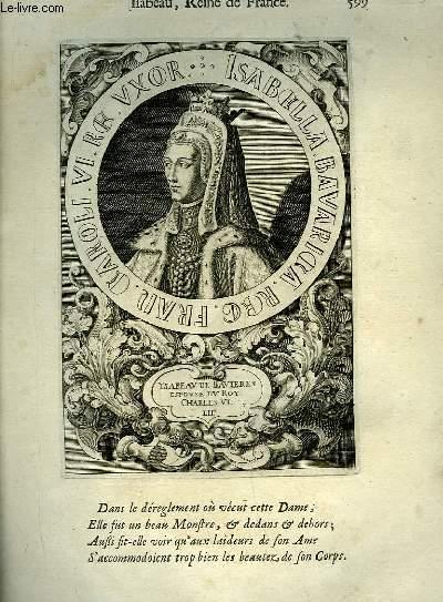 Une Biographie,  XVIIIe si�cle, de Isabeau, Reine de France, Femme de Charles VI