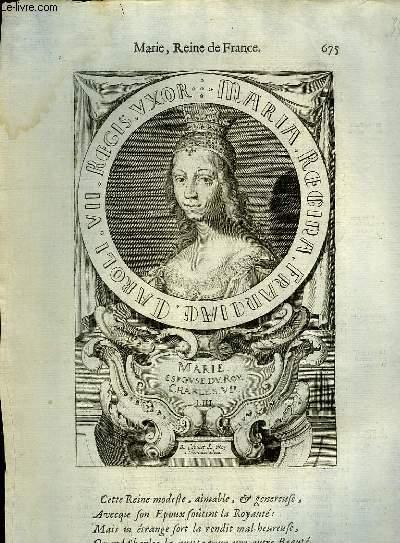 Une Biographie,  XVIIIe siècle, de Marie, Reine de France, Femme de Charles VII