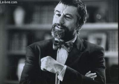 1 photographie argentique, de Robert de Niro, avec la barbe.