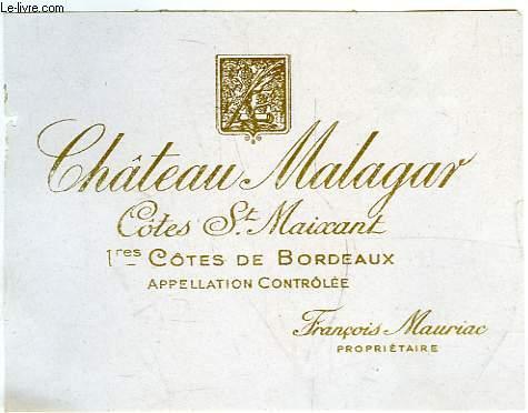 Etiquette de vin du