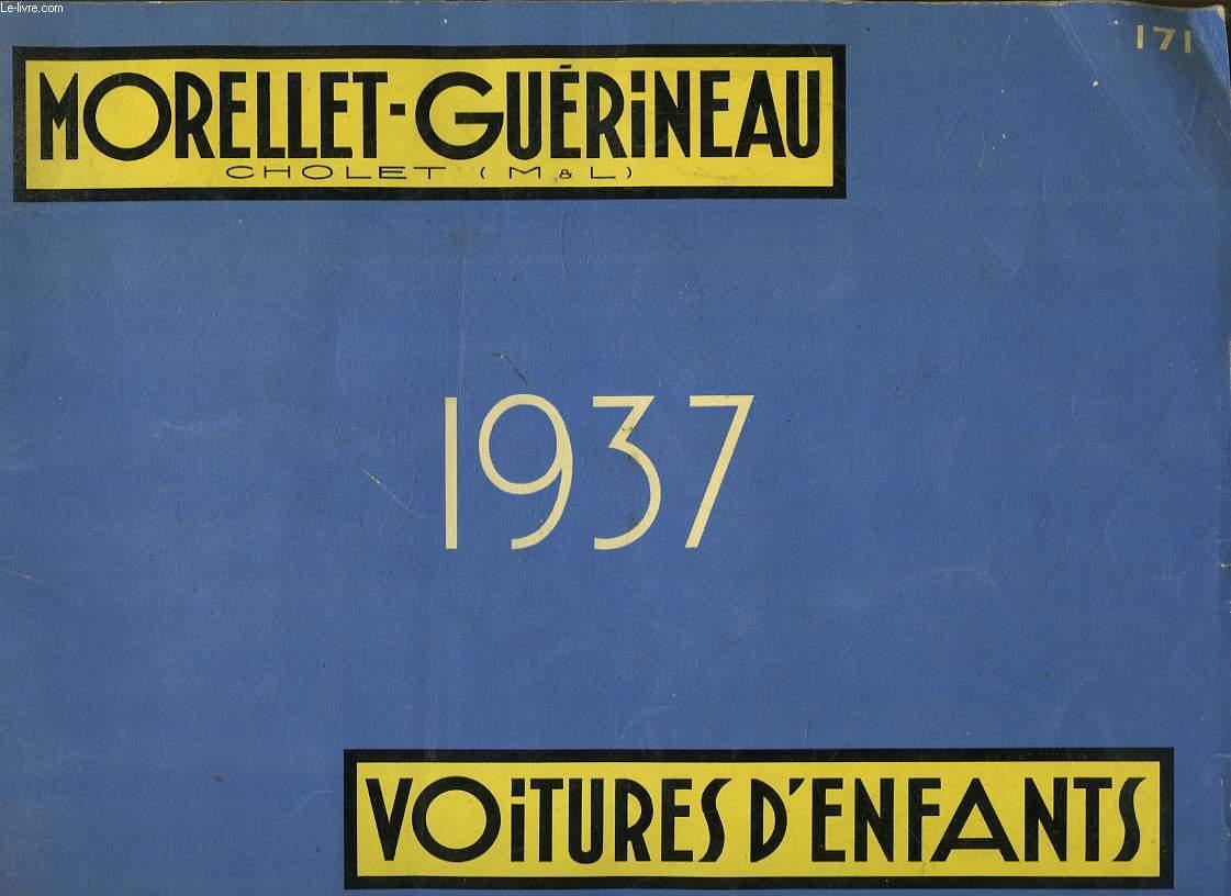 Catalogue n°171 Morellet-Guérineau. Voitures d'Enfants - Jouets.
