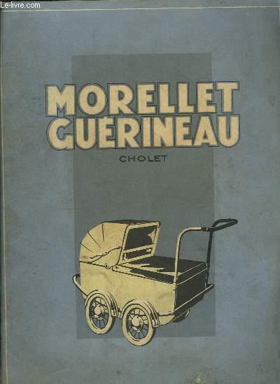Catalogue n°357 Morellet-Guérineau. Voitures d'Enfants - Lits d'Enfants - Jouets.