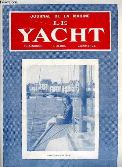 Journal de la Marine, Le Yacht. N°3037 - 70e année : Requin rentrant à la Trinité - Autour des pôles, par Bernay - Course-Croisière du requin