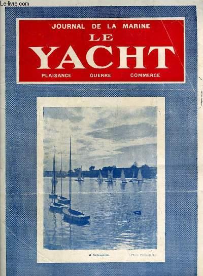 Journal de la Marine, Le Yacht. N°3039 - 70e année : A Sartrouville - Sous-Marins capturés, par Thomazi - Histoires de Cachalots, par G. Mouly - Naissance, exploits, disparition de l'Union Maritime de la Butte Montmartre, par Le Prou ...