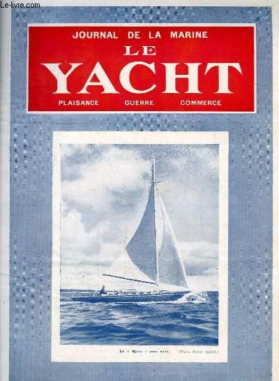 Journal de la Marine, Le Yacht. N°3043 - 70e année : Le