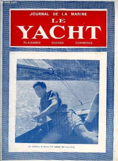 Journal de la Marine, Le Yacht. N°3047 - 70e année : Les Eclaireurs de France font gaiement leur appareillage - Les mouettes d'Heligoland, par G. Mouly - LA canalisation du Saint-Laurent, par Desclaire - Golfe de Gascogne, par Le Prou ...