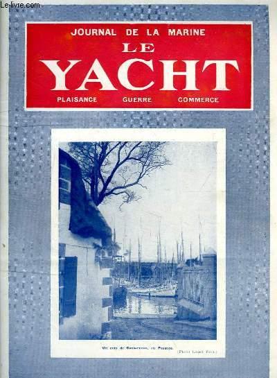 Journal de la Marine, Le Yacht. N°3050 - 70e année : Un coin de Concarneau, au Passage - Phares et Balises, par Bernay - Une industrie nouvelle, par Mouly - Tactique et Stratégie en régate ...