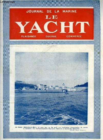 Journal de la Marine, Le Yacht. N°3102 - 71e année : Le Palais de Belle-Ile-en-Mer - Navires en conserves, par Mouly - Le navire-usine