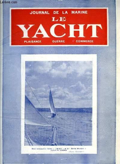Journal de la Marine, Le Yacht. N°3137 - 72e année : Deux compagnons fidèles,