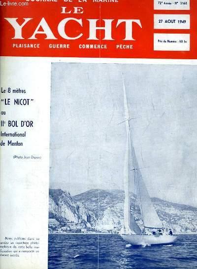 Journal de la Marine, Le Yacht. N°3168 - 72e année : Le 8 mètres