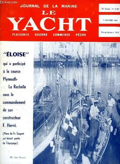 Journal de la Marine, Le Yacht. N°3187 - 72e année :