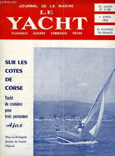 Journal de la Marine, Le Yacht. N°3199 - 73e année : Sur les Côtes de Corse, yacht de croisière