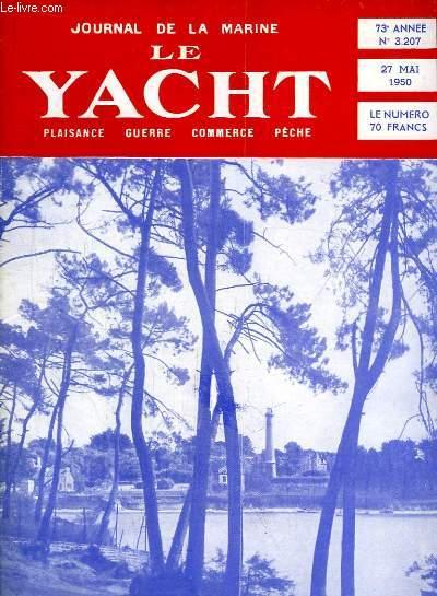 Journal de la Marine, Le Yacht. N°3207 - 73e année : Rush anglais vers les Bermudes - Le coup dur de