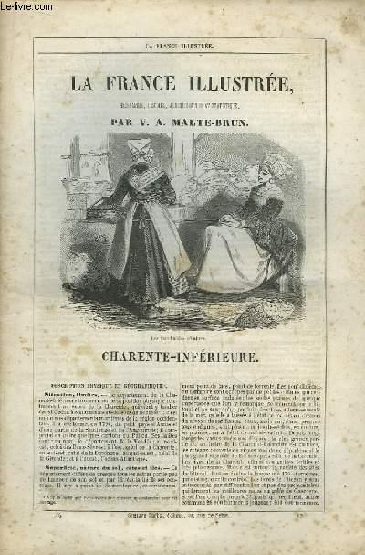 La France Illustrée. Livraison n°16 : Charente-Inférieure.