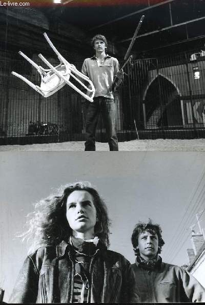 3 photographies professionnelles tirée d'un film - scènes dans un cirque, dompteur.