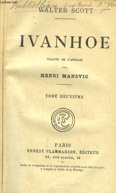Ivanhoé. TOME 2