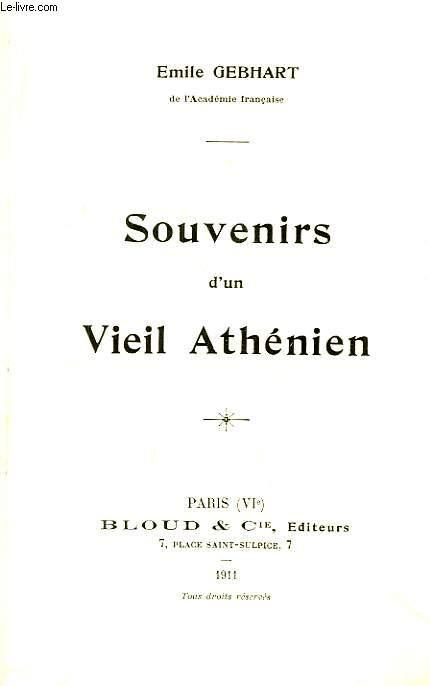 Souvenirs d'un Vieil Athénien.