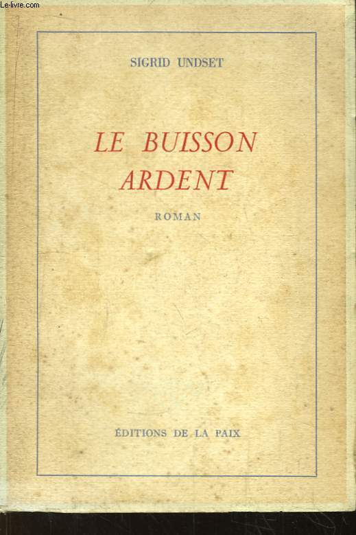 Le buisson ardent