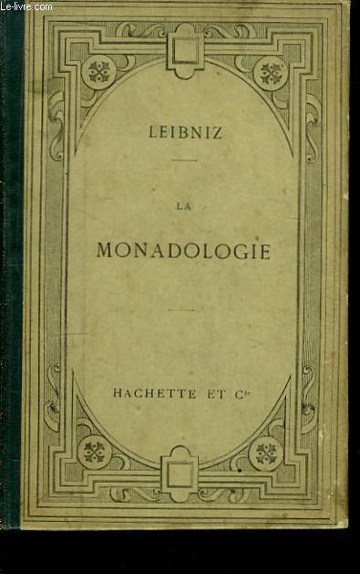 La Monadologie.