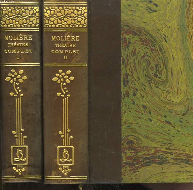 Théâtre Complet illustré. Notices et annotations par Théodore Comte. 7 tomes en deux volumes.