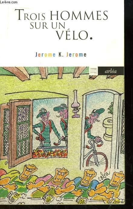 Trois hommes sur un vélo