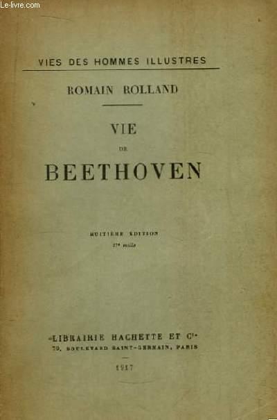 Vie de Beethoven.