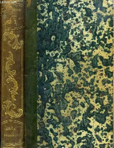 Oeuvres complètes de Voltaire. TOME 21 : Siècle de Louis XV.